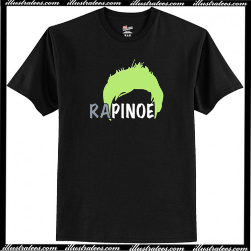 the latest e5531 c608f Megan Rapinoe Hair T-Shirt AI