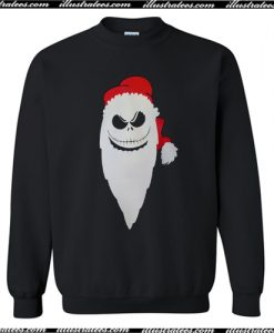 Santa Skeleton Christmas Sweatshirt AI