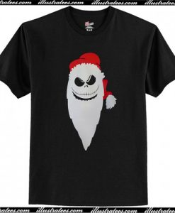 Santa Skeleton Christmas T-Shirt AI