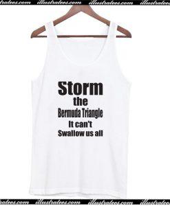 Storm the Bermuda Triangle Tank Top AI