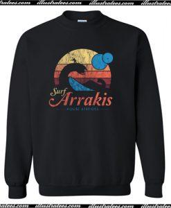 Surf Arrakis House Atreides Sweatshirt AI