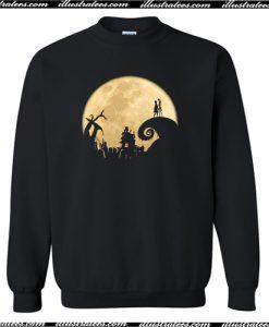 The Jack Skellington Moon Sweatshirt AI