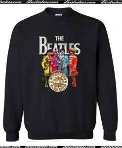 Vintage The Beatles Sgt Peppers Sweatshirt AI