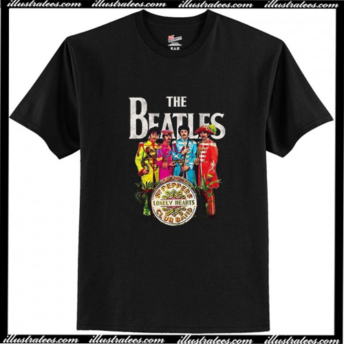 Vintage The Beatles Sgt Peppers T-Shirt AI