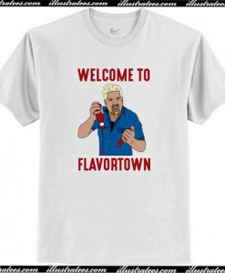 Welcome to Flavortown T-Shirt AI