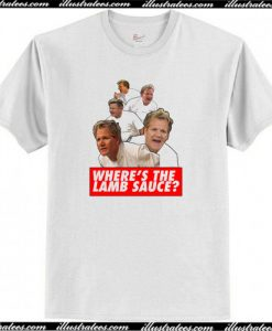 Wheres the Lamb Sauce T-Shirt AI