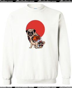 Yakuza Pug Sweatshirt AI