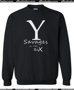 Yankees Savages in the Box Sweatshirt AI