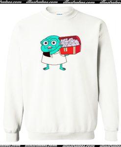 12 Forever Fanart, Borbo, Netflix Crewneck Sweatshirt AI