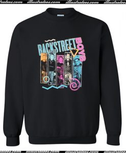 Backstreet Boys 90s Bar Sweatshirt AI