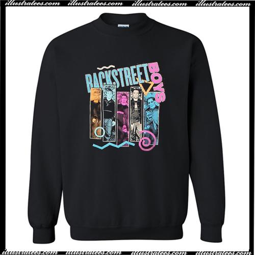 Backstreet Boys 90s Bar Sweatshirt AI