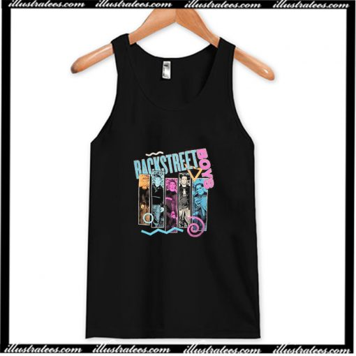 Backstreet Boys 90s Bar Tank Top AI