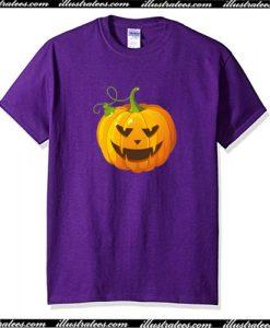 Pumpkin Halloween T Shirt AI