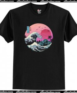 The Great Retro Wave T Shirt AI