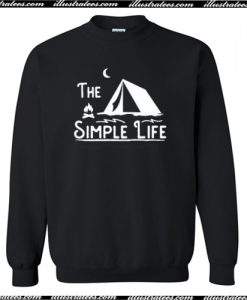 The Simple Life Sweatshirt AI