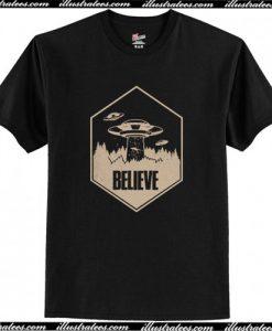 Vintage UFO Aliens Area 51 T-Shirt AI