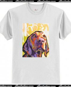 Vizsla Dog T-Shirt AI