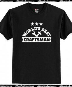 World's best Craftsman T-Shirt AI