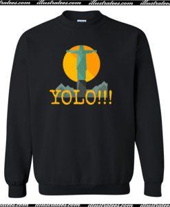 YOLO Jesus Sweatshirt AI