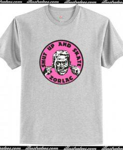ZORLAC SKATEBOARDS (PINK) T-Shirt AI