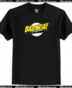 Bazing a Big Bang Theory T Shirt AI