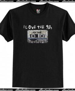 I Love the 90s Grunge T-Shirt AI