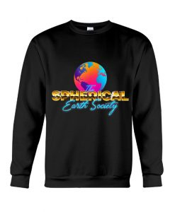 The SPHERICAL Earth Society Sweatshirt AI