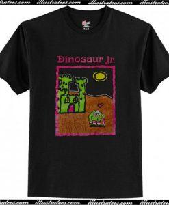Vintage 90s Dinosaur Jr T Shirt AI