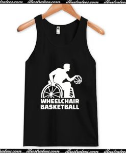 Wheelchair Basketball Tank Top AI