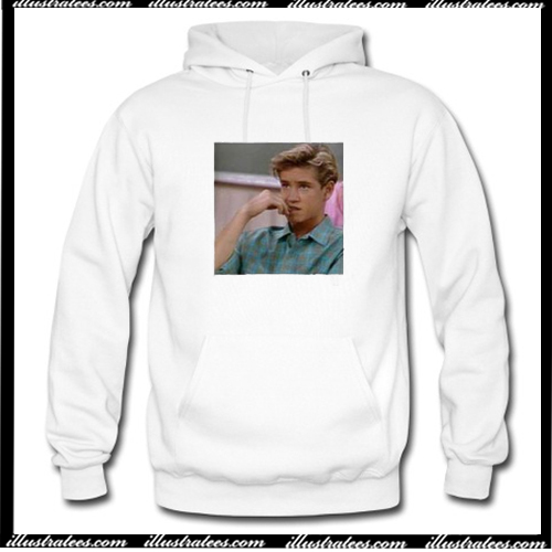 Zack Morris Saved By The Bell Hoodie AI