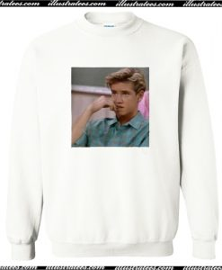 Zack Morris Saved By The Bell Sweatshirt AI