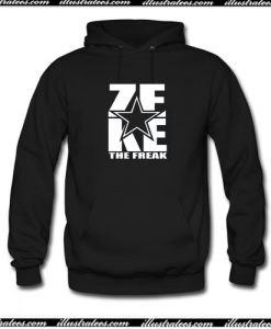Zeke Ezekiel Elliott The Freak Hoodie AI