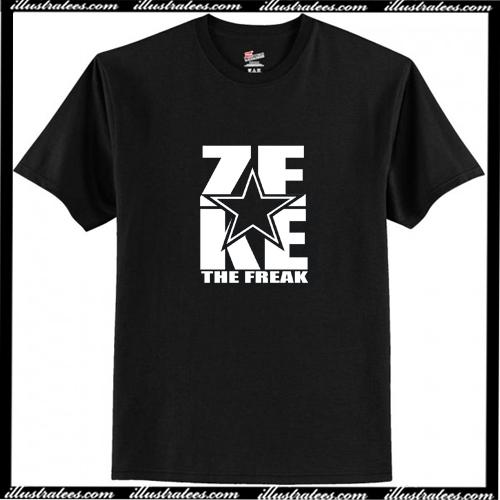 Zeke Ezekiel Elliott The Freak T-Shirt AI