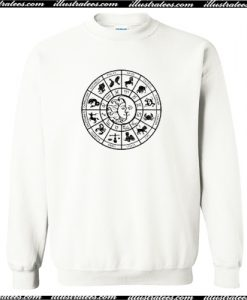 Zodiac Astrology Tee Sweatshirt AI