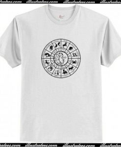 Zodiac Astrology Tee T Shirt AI