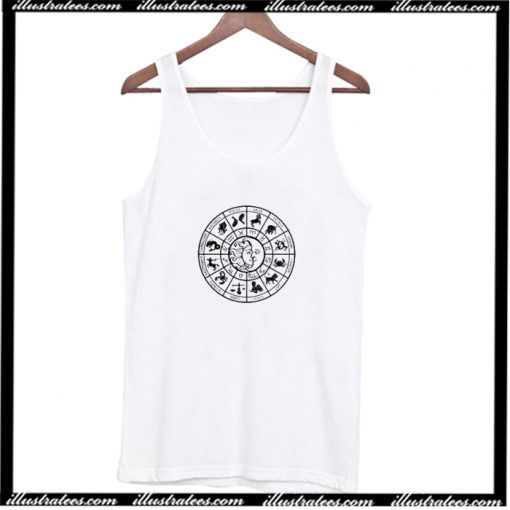 Zodiac Astrology Tee Tank Top AI