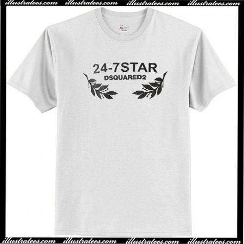 24-7 Star Dsquared2 T-Shirt AI