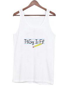 TtGgIiFf Funny Gift For Teacher Tank Top AI