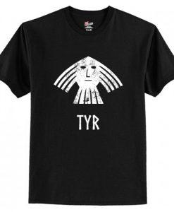 Viking - Tyr Norse Viking God Vintage Distressed T-Shirt AI