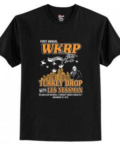 WKRP Turkey Drop T-Shirt AI