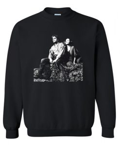 Wuthering Heights Emily Bronte Heathcliff and Cathy Sweatshirt AI