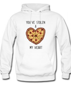 You've Stolen A Pizza My Heart Hoodie AI