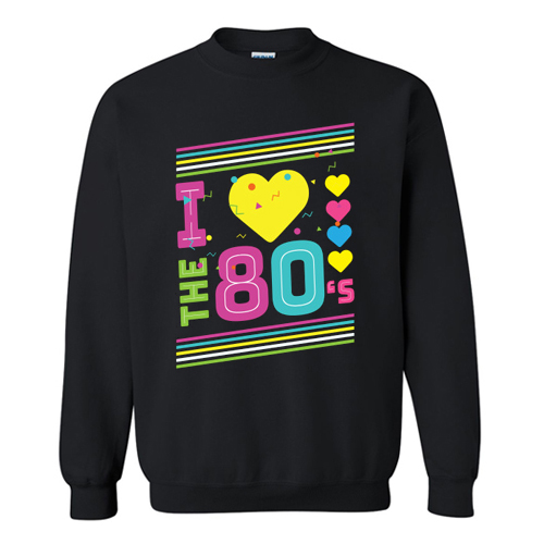 Love The 80s Apparel Disco Sweatshirt AI