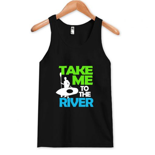 Take Me To The River Tank Top AI