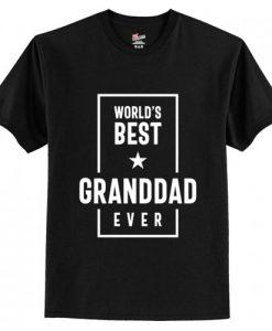 World's Best Granddad Ever T-Shirt AI