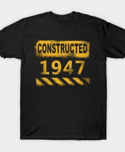 1947 Birth Year T-Shirt AI