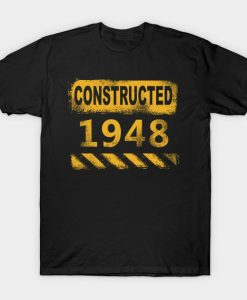 1948 birth year vintage retro T-Shirt AI