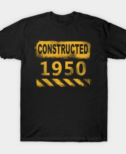 1950 birth year vintage retro T-Shirt AI