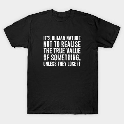 Naruto Quote T-Shirt AI