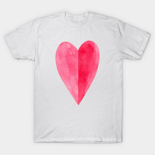 Red heart T-Shirt AI